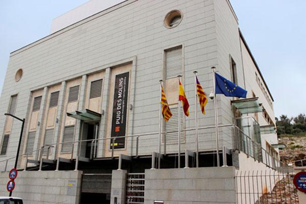 Imagen del Museo Monográfico de Puig des Molins a su inauguración en 2012.