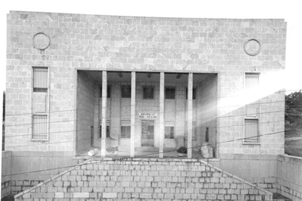 Imagen del Museo de Ibiza el año 1970.