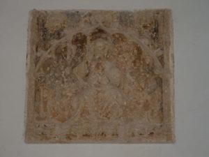 Imagen del Pantocrátor tardo-gótico.